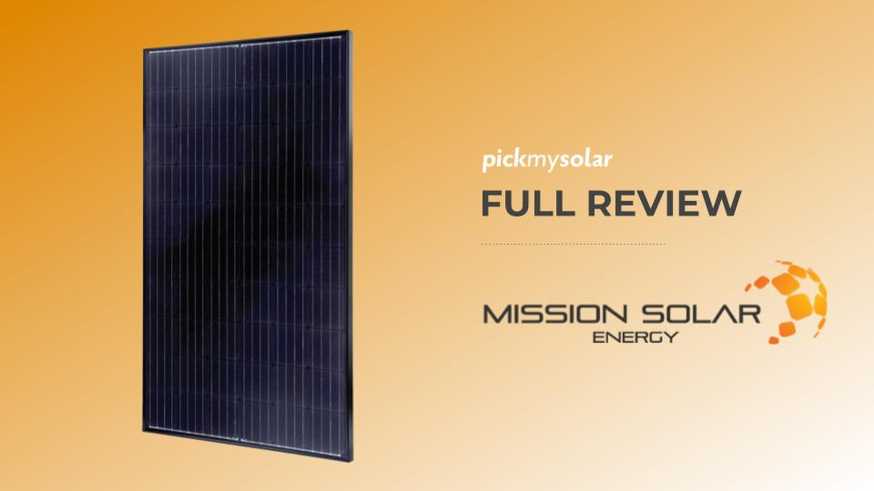 Mission Solar Energy Review