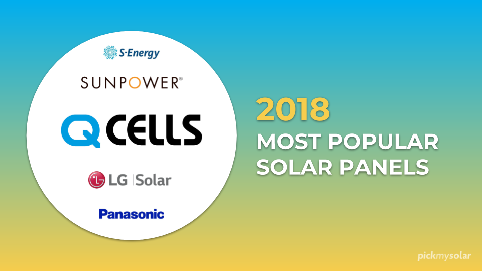 The Most Popular Solar Panels in 2018
