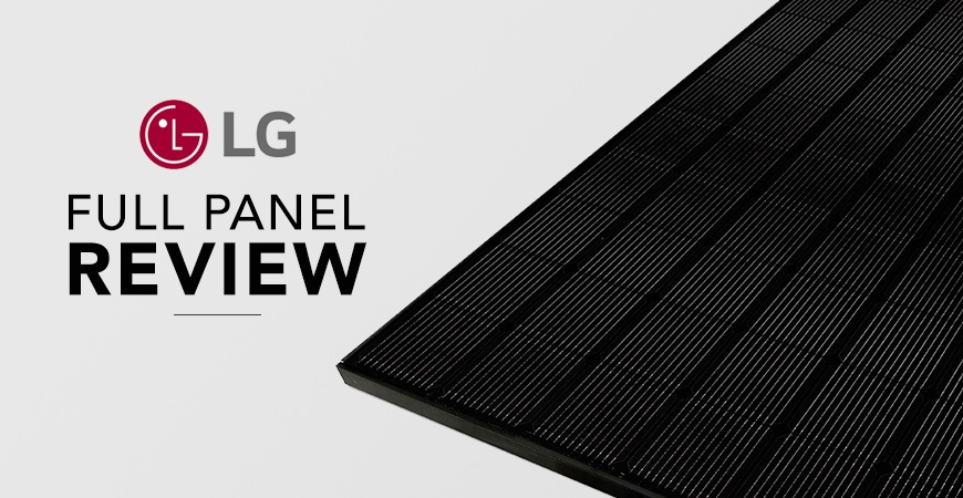 A Review of LG Solar Panels - When Brand Name Does Matter