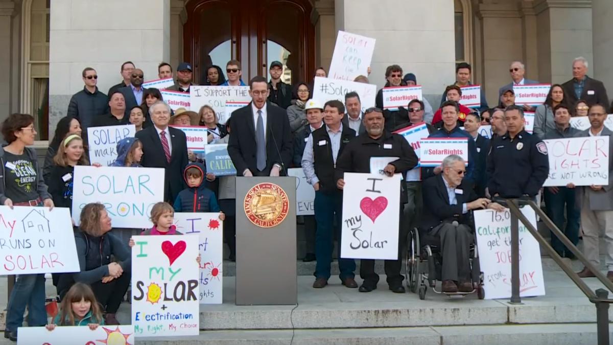 SB288 California Solar Bill of Rights