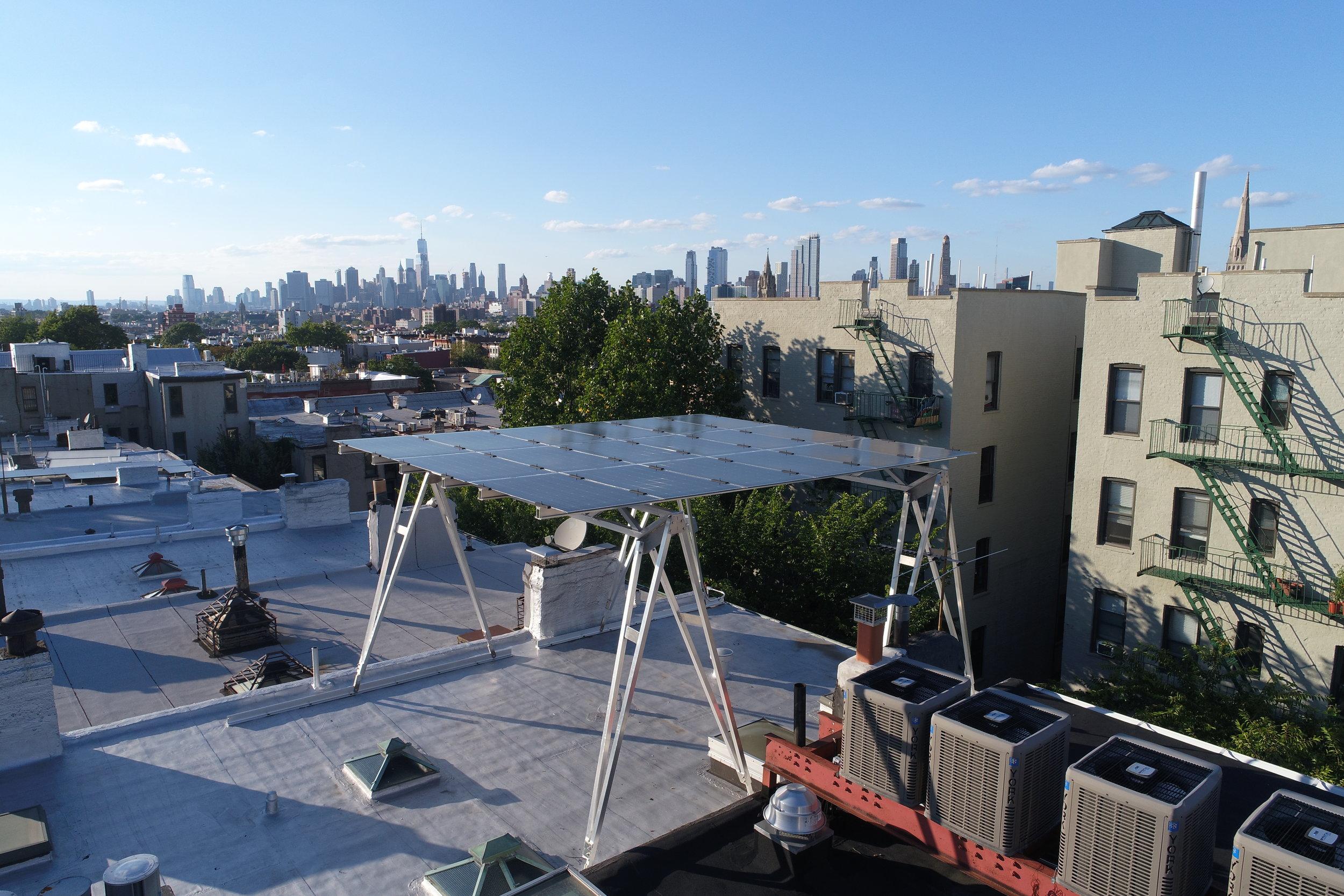 Brooklyn Solar Canopy