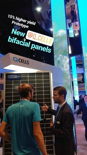 Q CELLS Bifacial Solar Panel