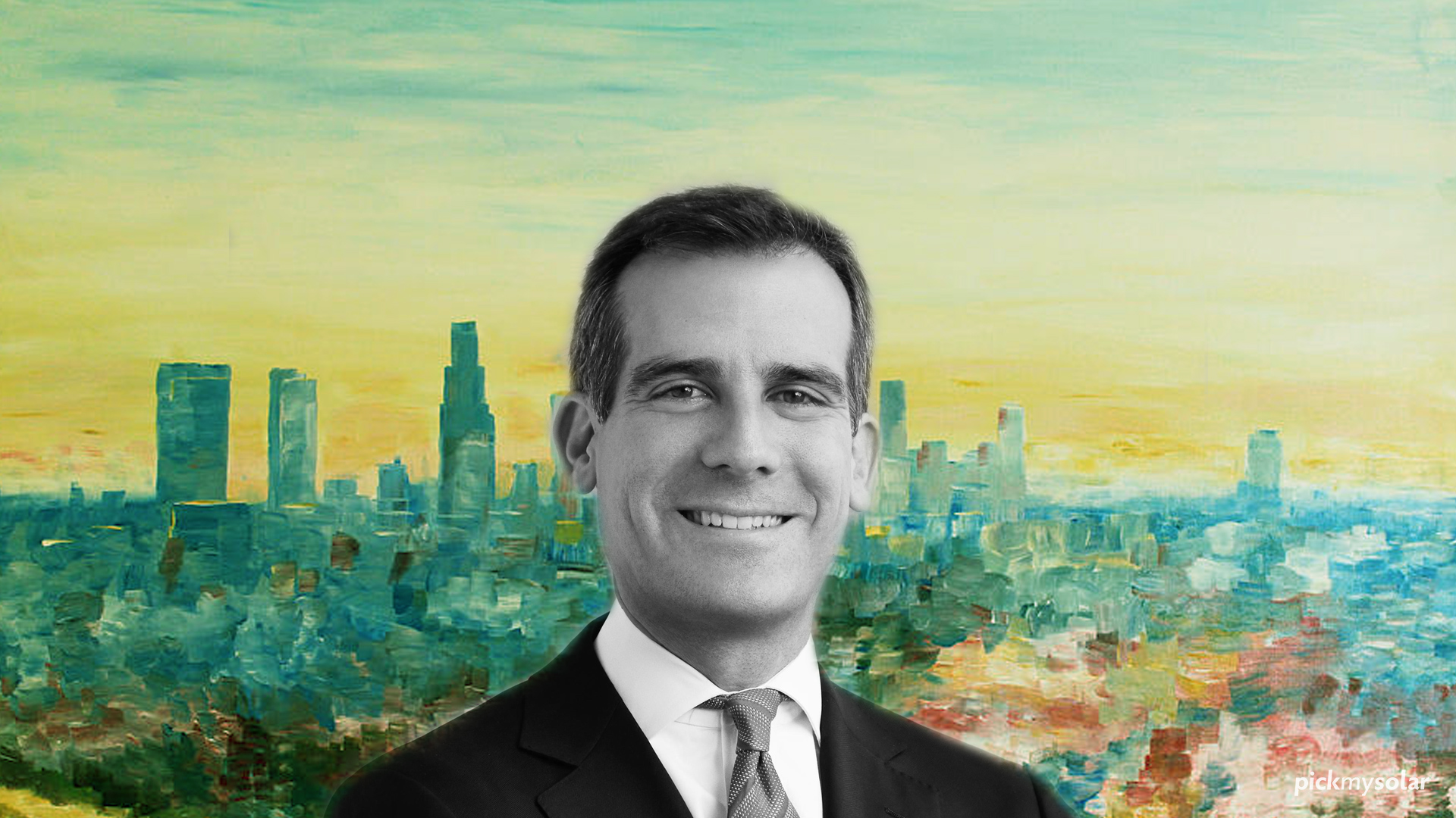 Mayor Garcetti on Moving L.A. Toward 100 Percent Renewable Energy