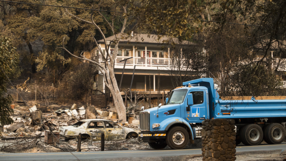 PG&E Bankruptcy Due to Fires