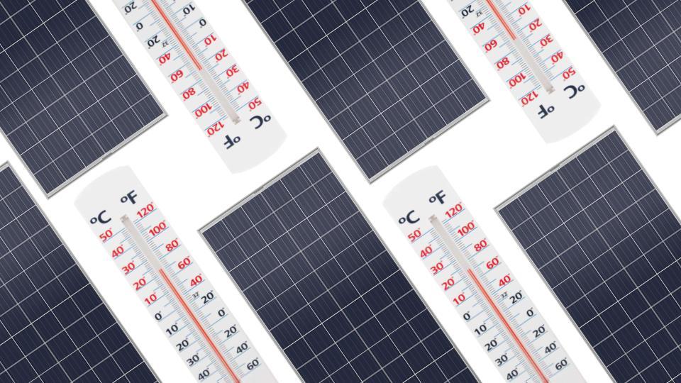 Solar Panel Temperature Coefficient