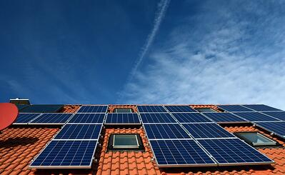 Tile roof and solar