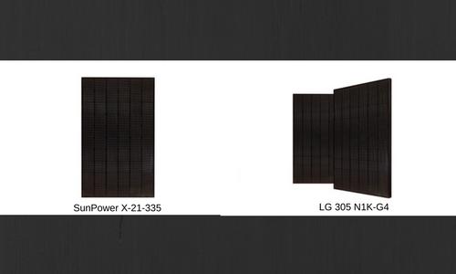 SunPower Solar Panels vs  LG Solar Panels