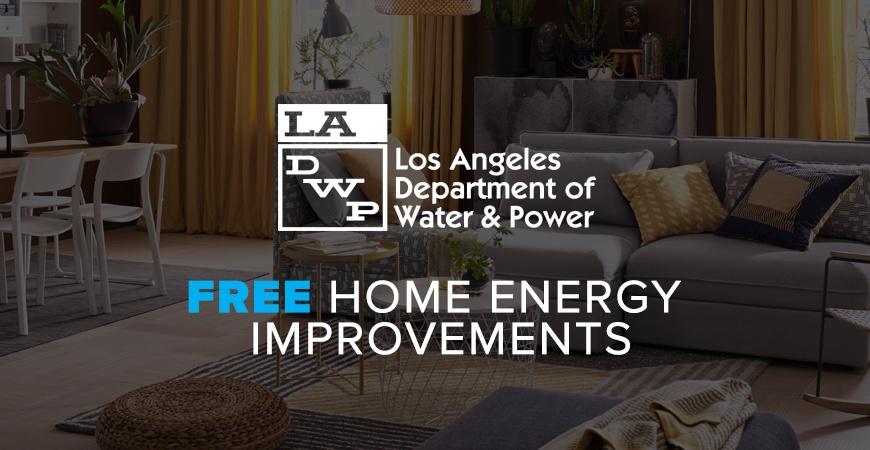 Free LADWP Home Energy Improvements