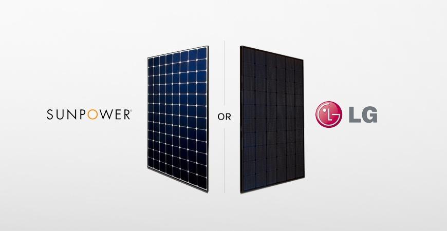 What's Better - Sunpower of LG Solar Panels?