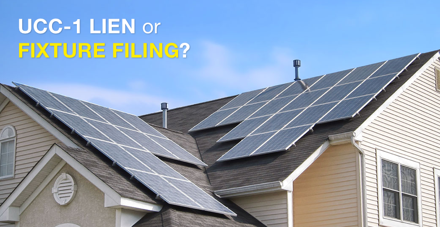 What is a UCC-1 Lien or fixture filing?