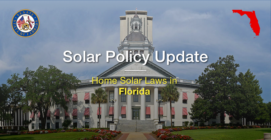 Solar Policy Update - The Latest Home Solar Laws in Florida