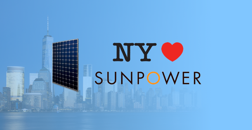 Why New York Loves SunPower Solar Panels