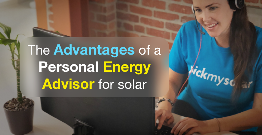 The advantages of a personal energy advisor for solar
