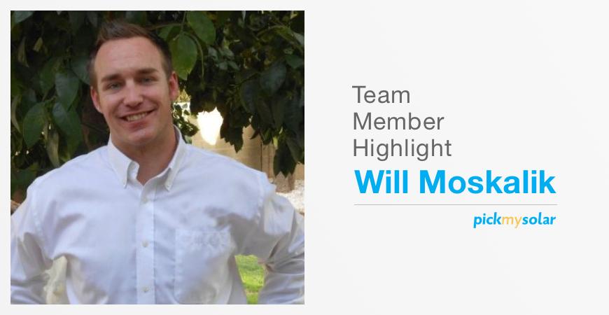 Team member highlight: WIll Moskalik