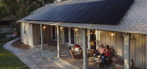 Sunpower Maxeon, all black, wireless solar panel