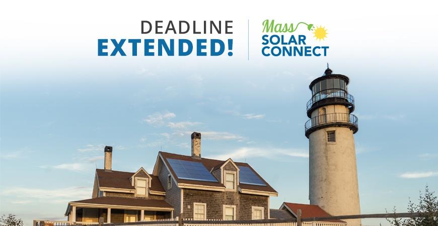Mass Solar Connect Deadline