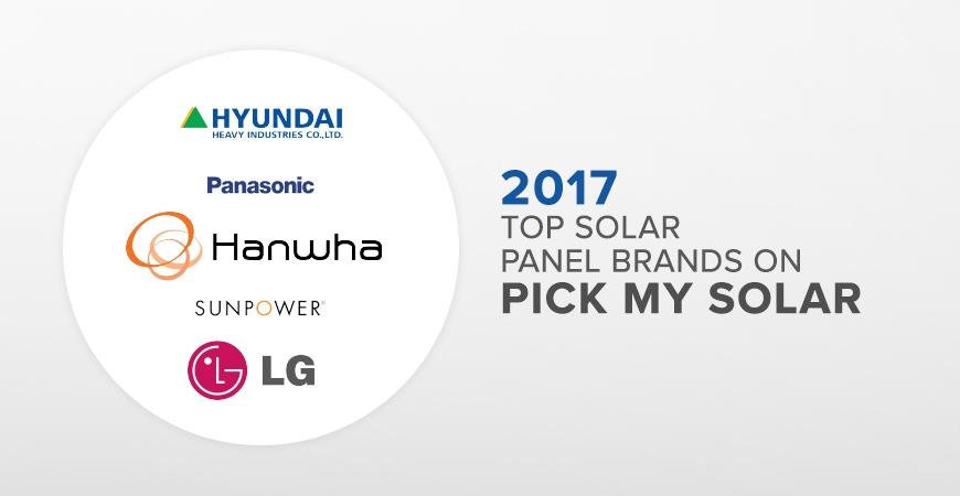 Top 5 solar panels on solar marketplace