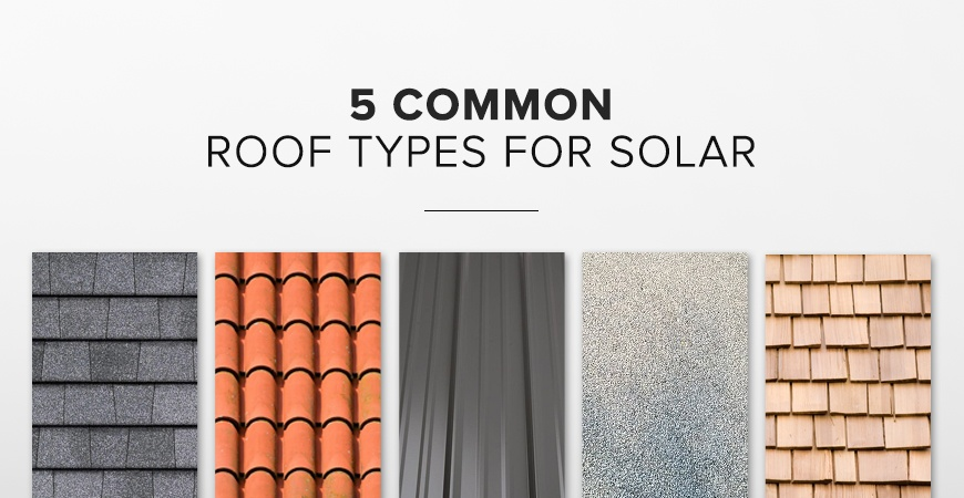 roof types for solar