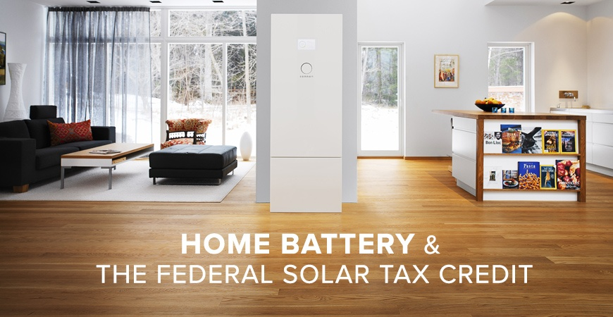 Home Battery and Getting the Solar Tax Credit