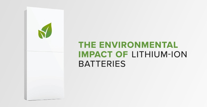 How Green are Home Batteries? The Environmental Impact of Lithium-Ion