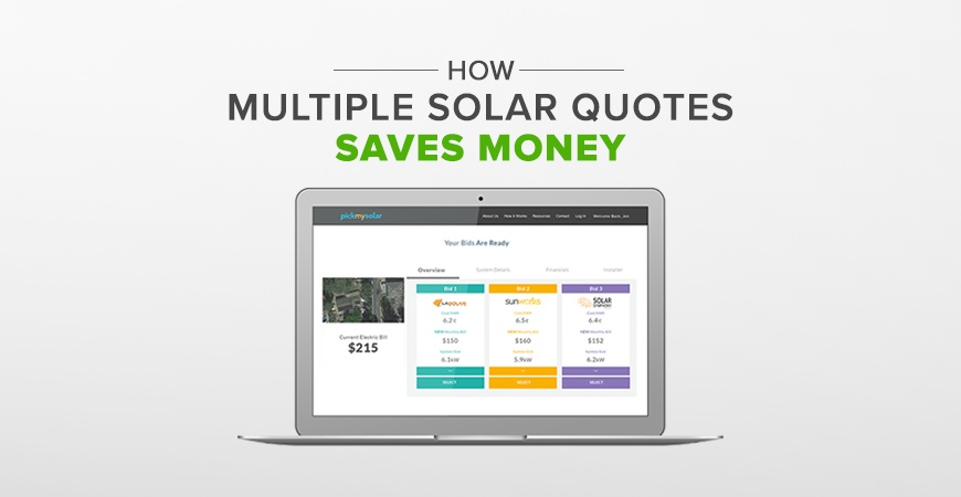 You Should Get Multiple Solar Quotes to Save Money