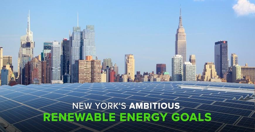 New York Renewable Energy Goals