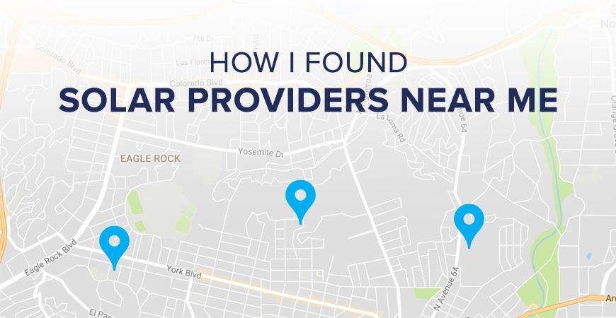 Solar Providers Near Me