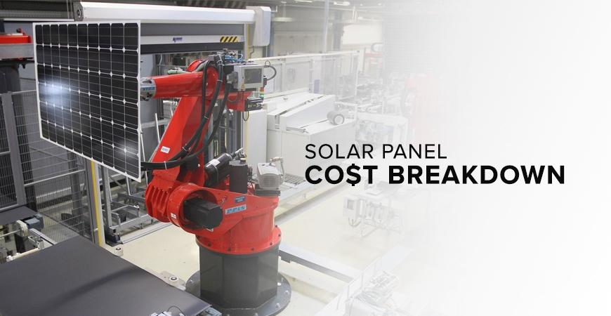 Solar Panel Cost Breakdown