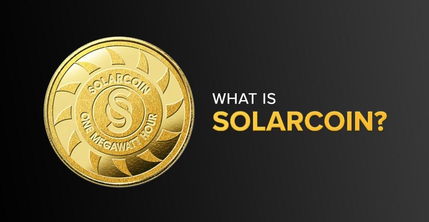 A SolarCoin equals one megawatt hour