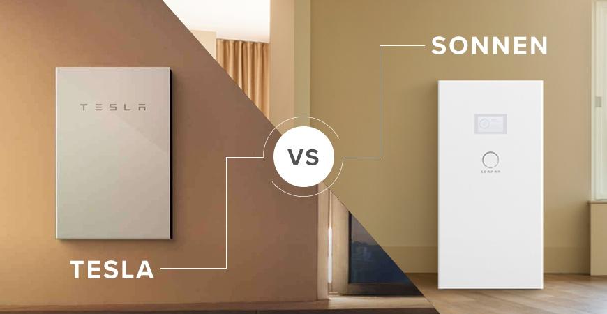 Tesla Powerwall 2 vs  Sonnen Eco