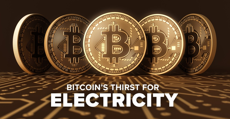 Bitcoin has a high energy demand
