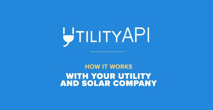 Utility API How it Works