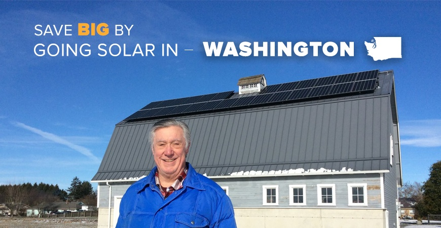 Save Big with Solar in Washington