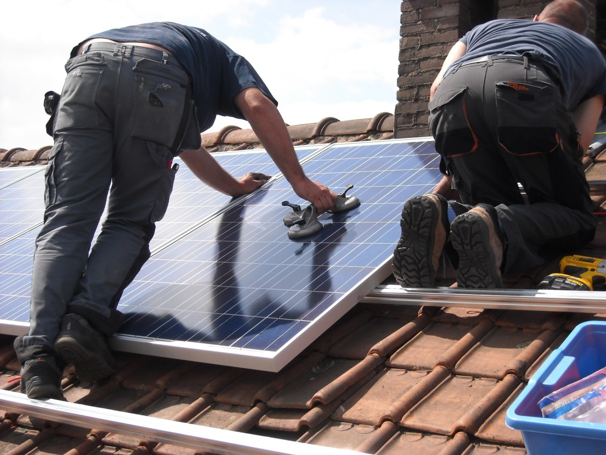Solar Mounting System for Tile Roof