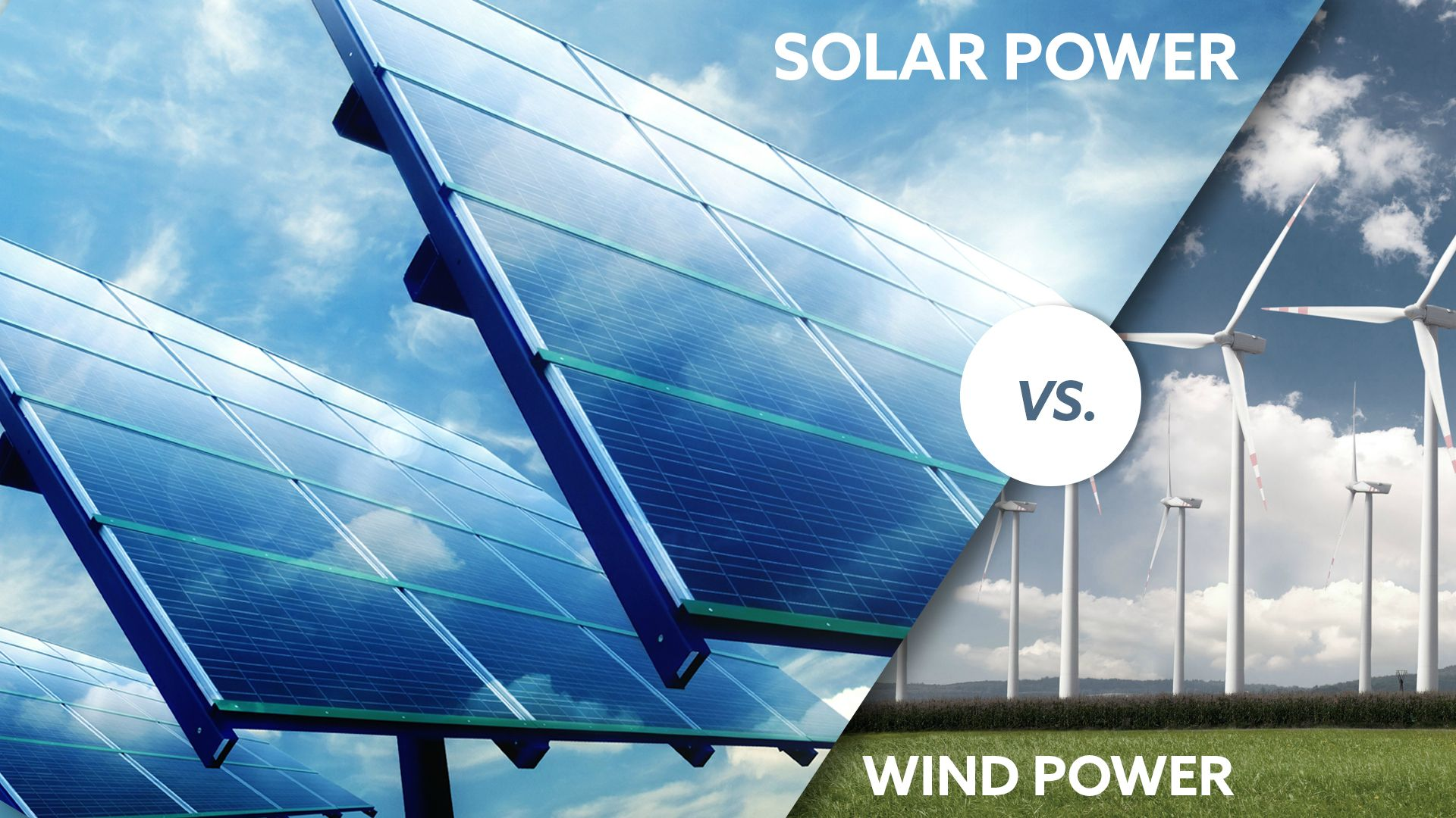 Wind Power vs Solar Power