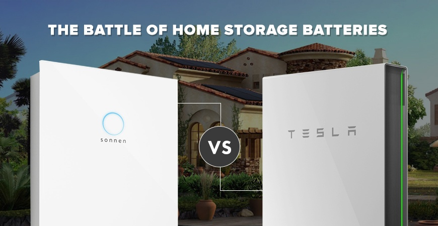 The Battle Of Home Battery Backup Sonnenbatterie Vs Tesla