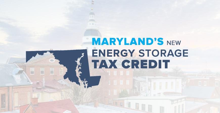 Perfect Maryland Energy Storage Tax Credit