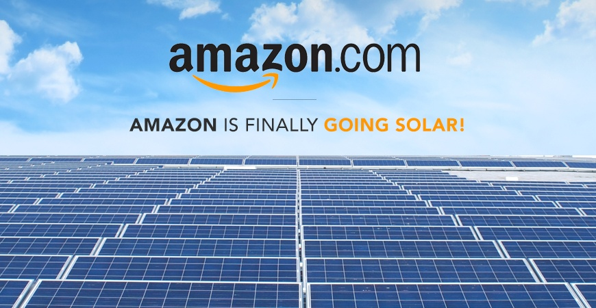 Amazon Has Finally Decided To Become A Leader in Renewable Energy