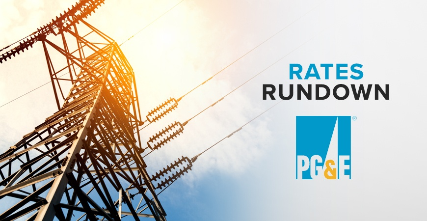 PG&E Home Solar and Electric Vehicle Rates Rundown