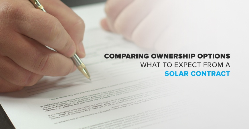 What to Expect from a Solar Contract