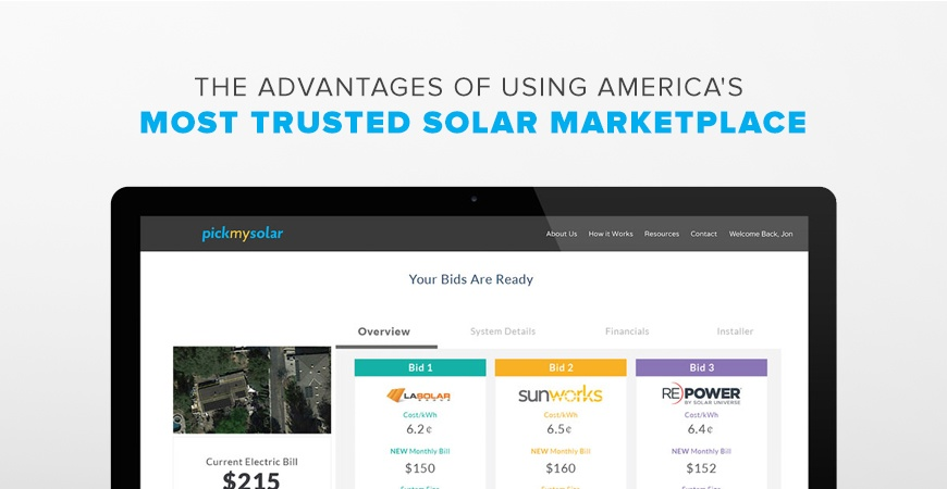 Advantages of Using America's Most Trusted Solar Marketplace