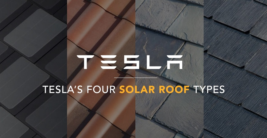 Tesla Roof Shingles >> The 4 Roof Types Released By The Tesla Solar Program