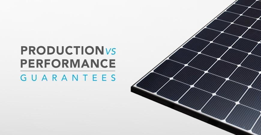 Production Vs Performance Guarantees