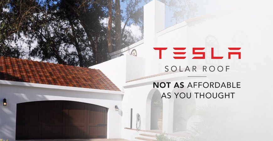 The 4 Roof Types Released By The Tesla Solar Program